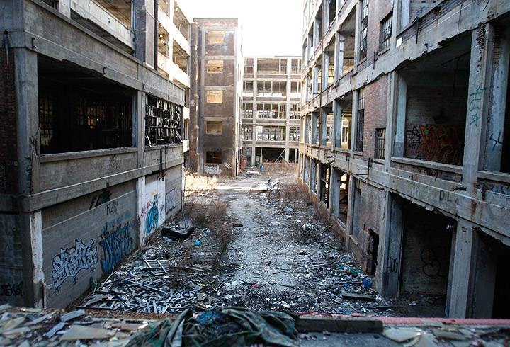 Image result for abandoned detroit