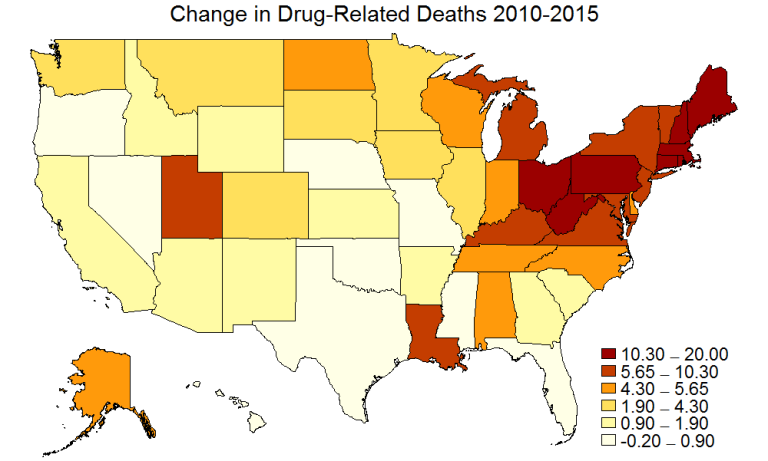 Regional Differences In Personality And The Opioid Epidemic